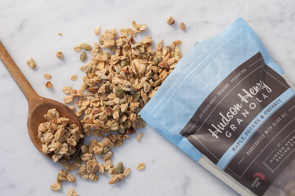 Good News Granola 12oz Bag- Maple, Pecans and Coconut