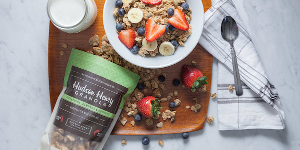 Hudson Henry Granola 12oz Bag- Pistachios, Almonds and Coconut