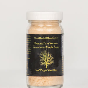 Organic Pure Vermont Granulated Maple Sugar