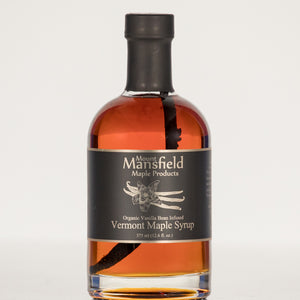 Organic Vanilla Bean Infused Vermont Maple Syrup 375ml