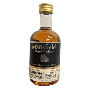 Organic Bourbon Barrel Aged Maple Syrup 50ml