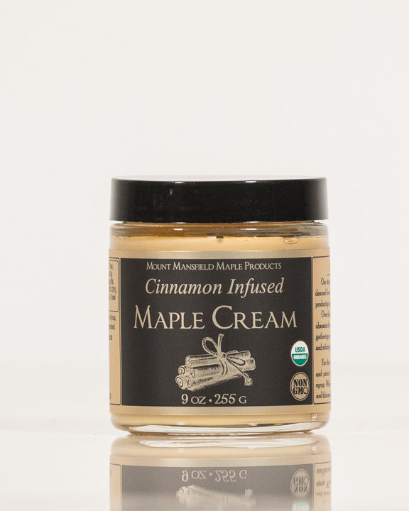 Cinnamon Infused Vermont Maple Cream