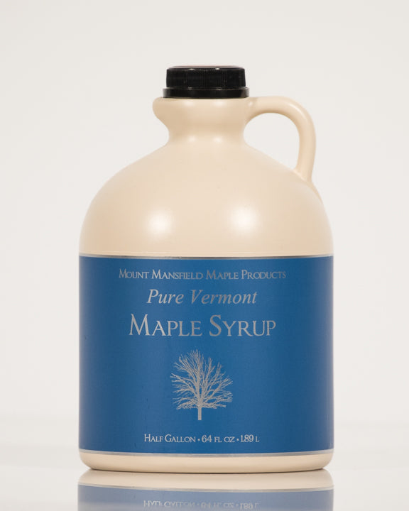 Conventional Half Gallon Plastic Jug Pure Vermont Maple Syrup