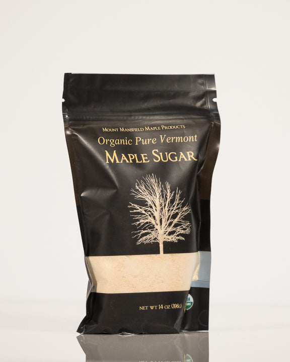 Organic 14oz resealable pouch Pure Granulated Vermont Maple Sugar