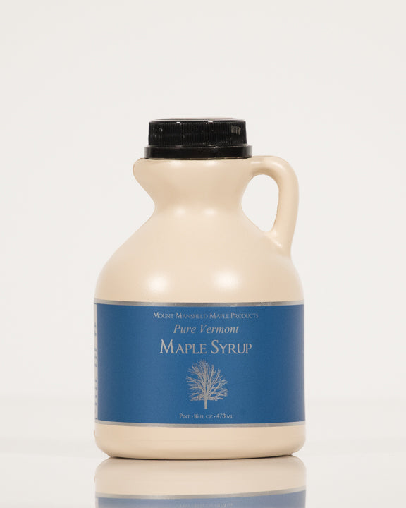 Conventional Pint Plastic Jug Pure Vermont Maple Syrup
