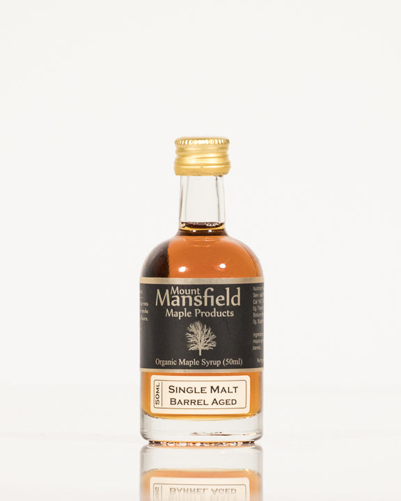 Organic Single Malt Barrel Aged Vermont Maple Syrup 50ml