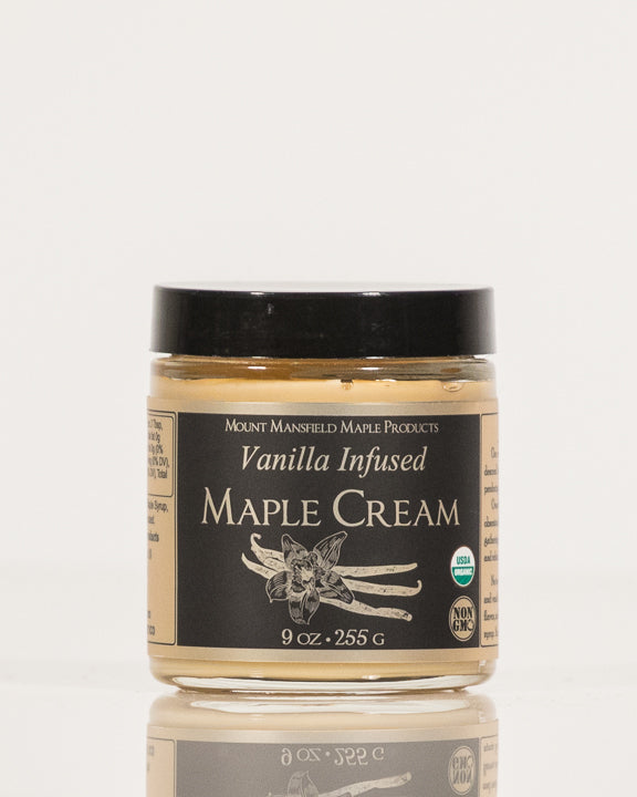 Vanilla Infused Vermont Maple Cream