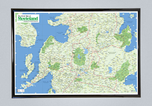 The Great Map of Movieland