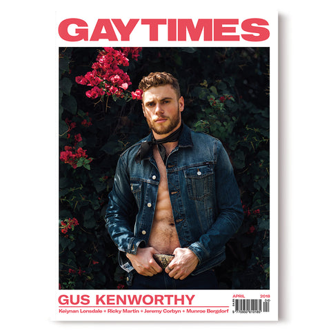 GAY TIMES APRIL 2018 • GUS KENWORTHY
