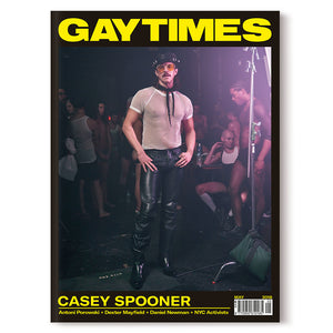 GAY TIMES MAY 2018 • CASEY SPOONER (LIMITED EDITION)