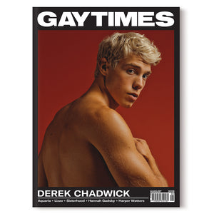 GAY TIMES AUGUST 2018 • DEREK CHADWICK
