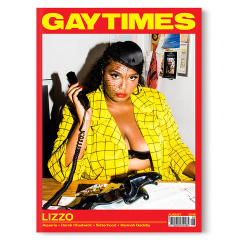 GAY TIMES AUGUST 2018 • LIZZO