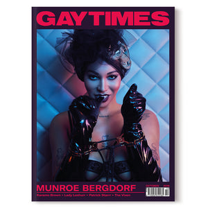 GAY TIMES OCTOBER 2018 • MUNROE BERGDORF