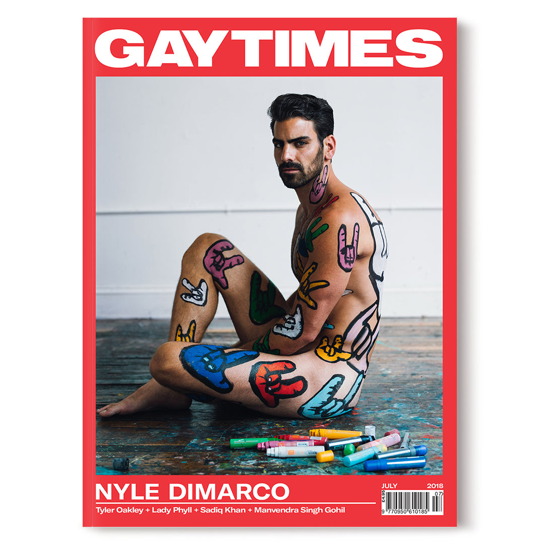 GAY TIMES JULY 2018 • NYLE DIMARCO