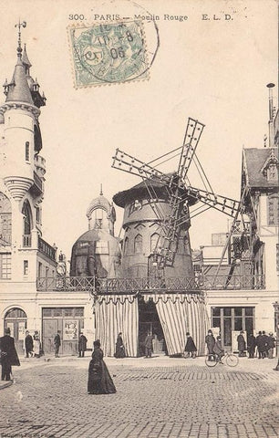 Le Moulin Rouge en 1905