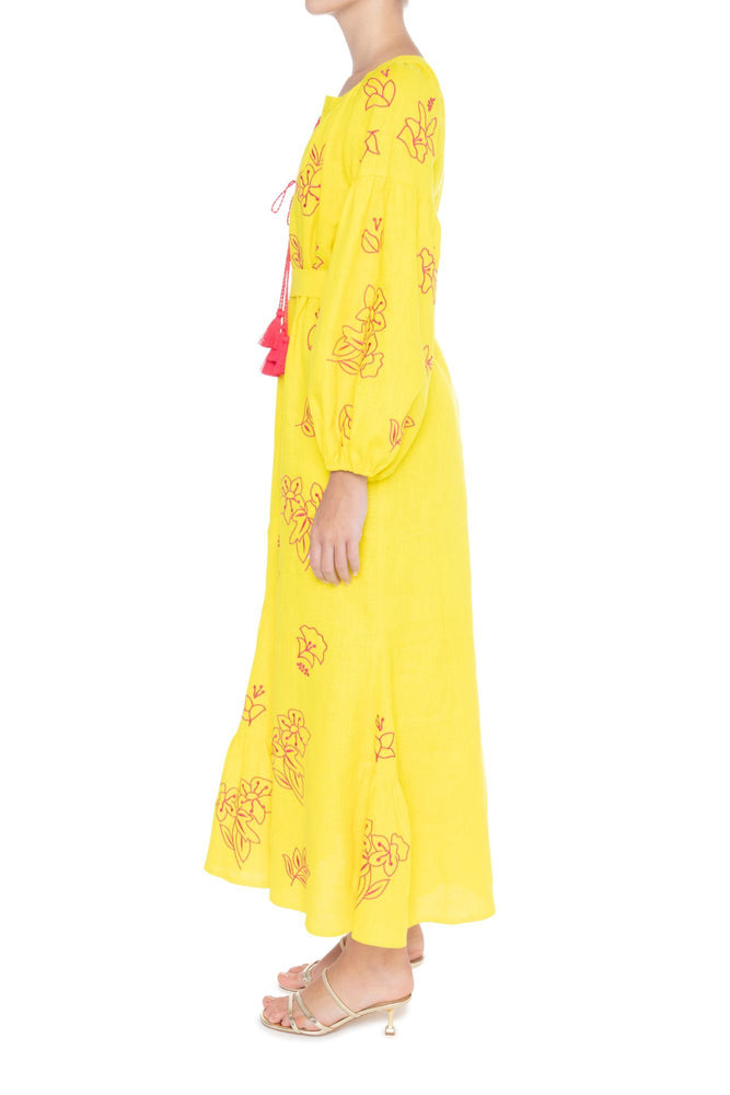 Load image into Gallery viewer, FLORA Maxi Dress-ZALXNDRA
