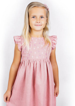Load image into Gallery viewer, KIDS MILA DRESS-ZALXNDRA