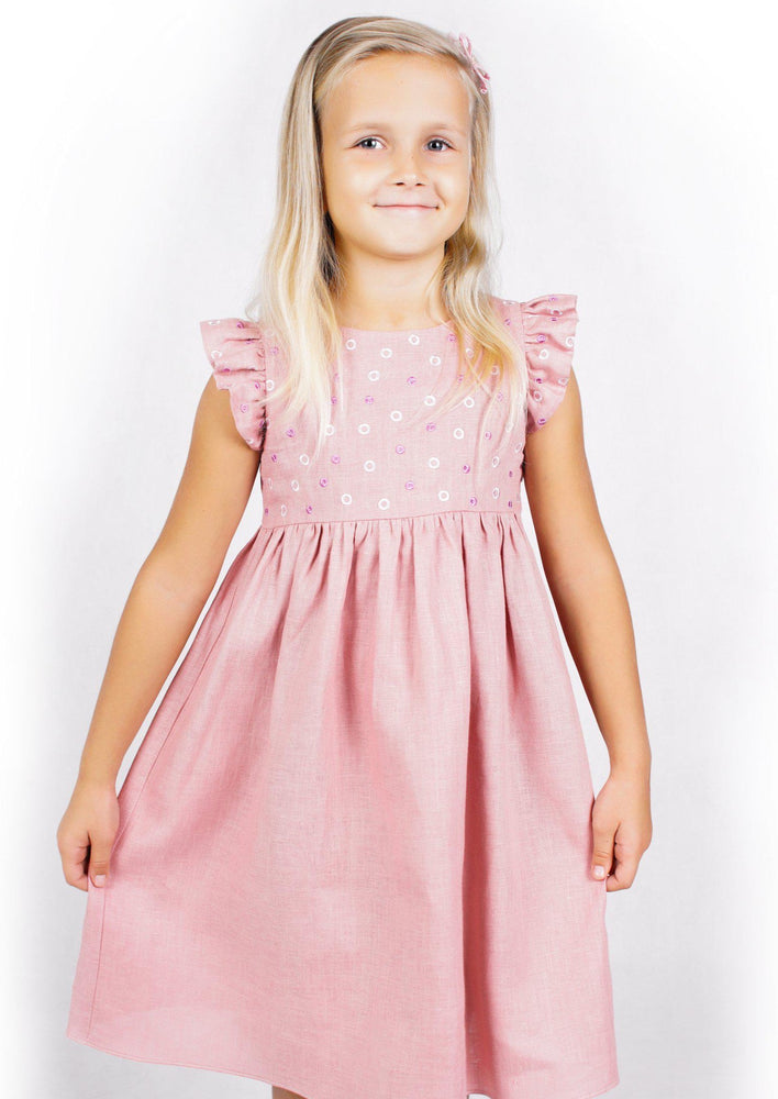 KIDS MILA DRESS-ZALXNDRA