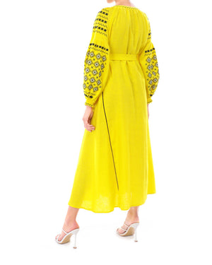Load image into Gallery viewer, LENA Maxi Dress-ZALXNDRA
