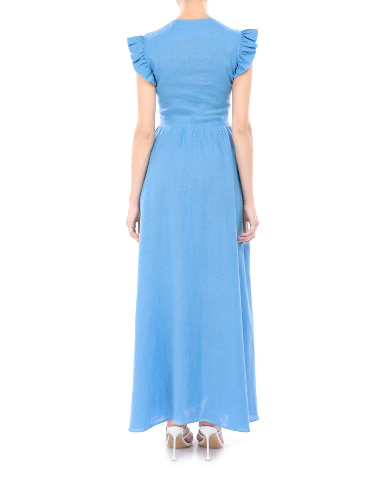 Load image into Gallery viewer, THAIS Maxi Dress-ZALXNDRA