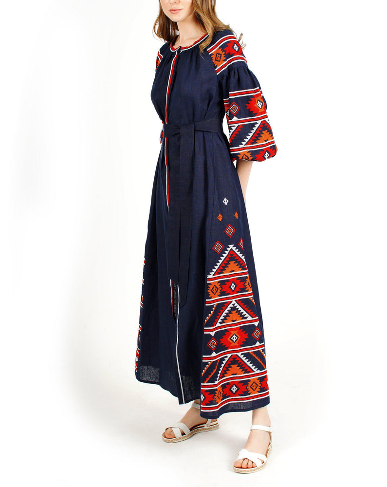 Load image into Gallery viewer, WILLOW Maxi Dress-ZALXNDRA
