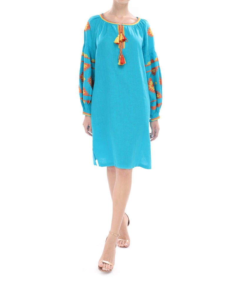 YASMINE Tunic Dress-ZALXNDRA