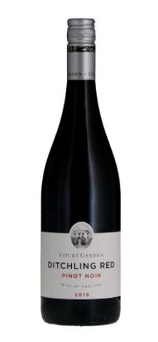 Ditchling Red Pinot Noir Vintage Court Garden England 2019, £16.99