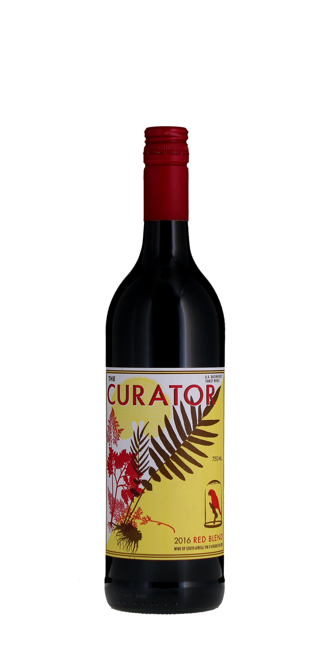 A.A. Badenhorst The Curator Red, Coastal Region 2016