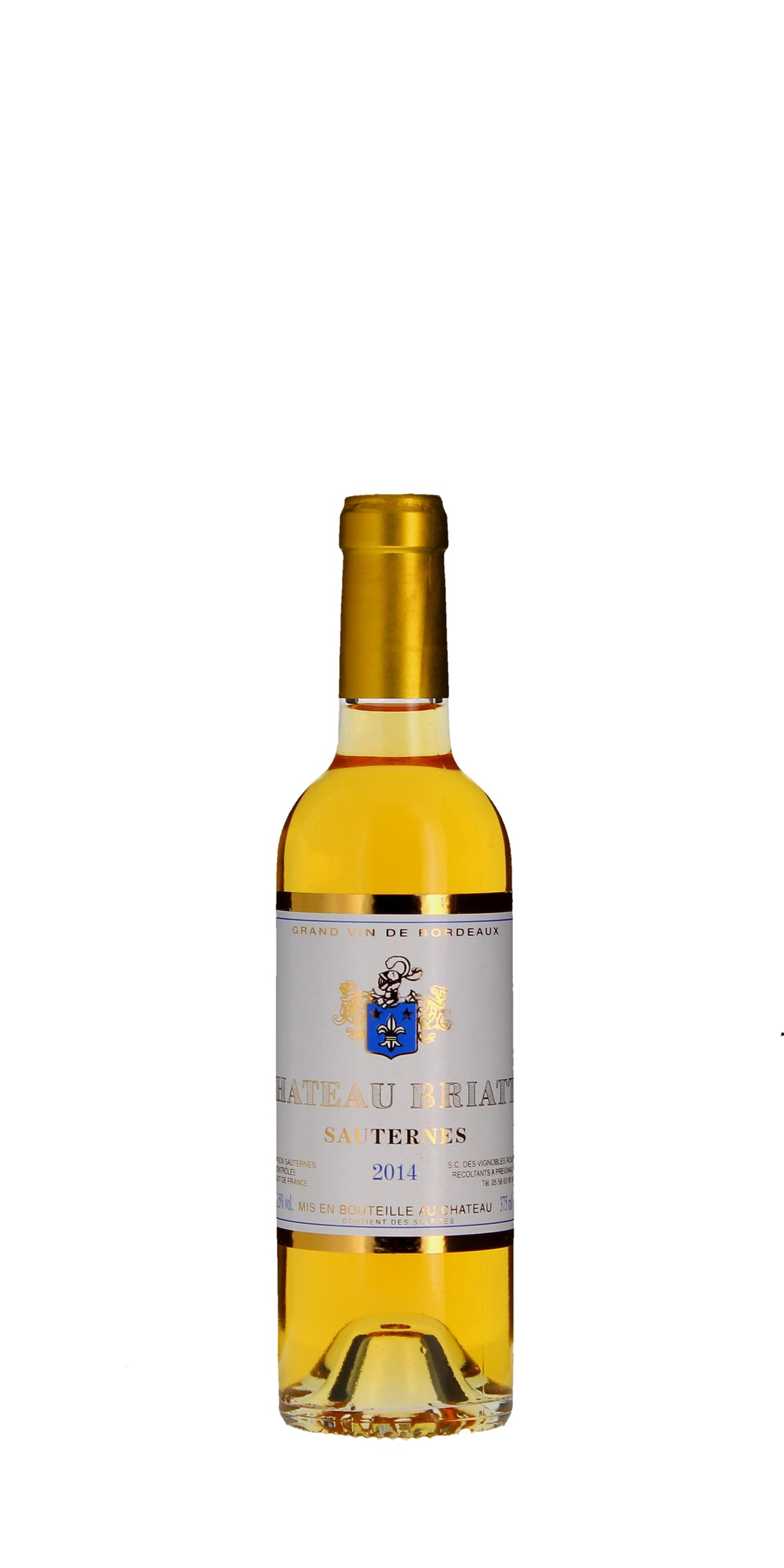 Briatte Sauternes 2014 Half Bottle 37.5cl