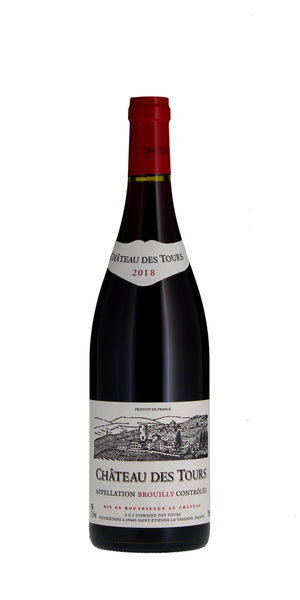 Chateau des Tours Brouilly 2018