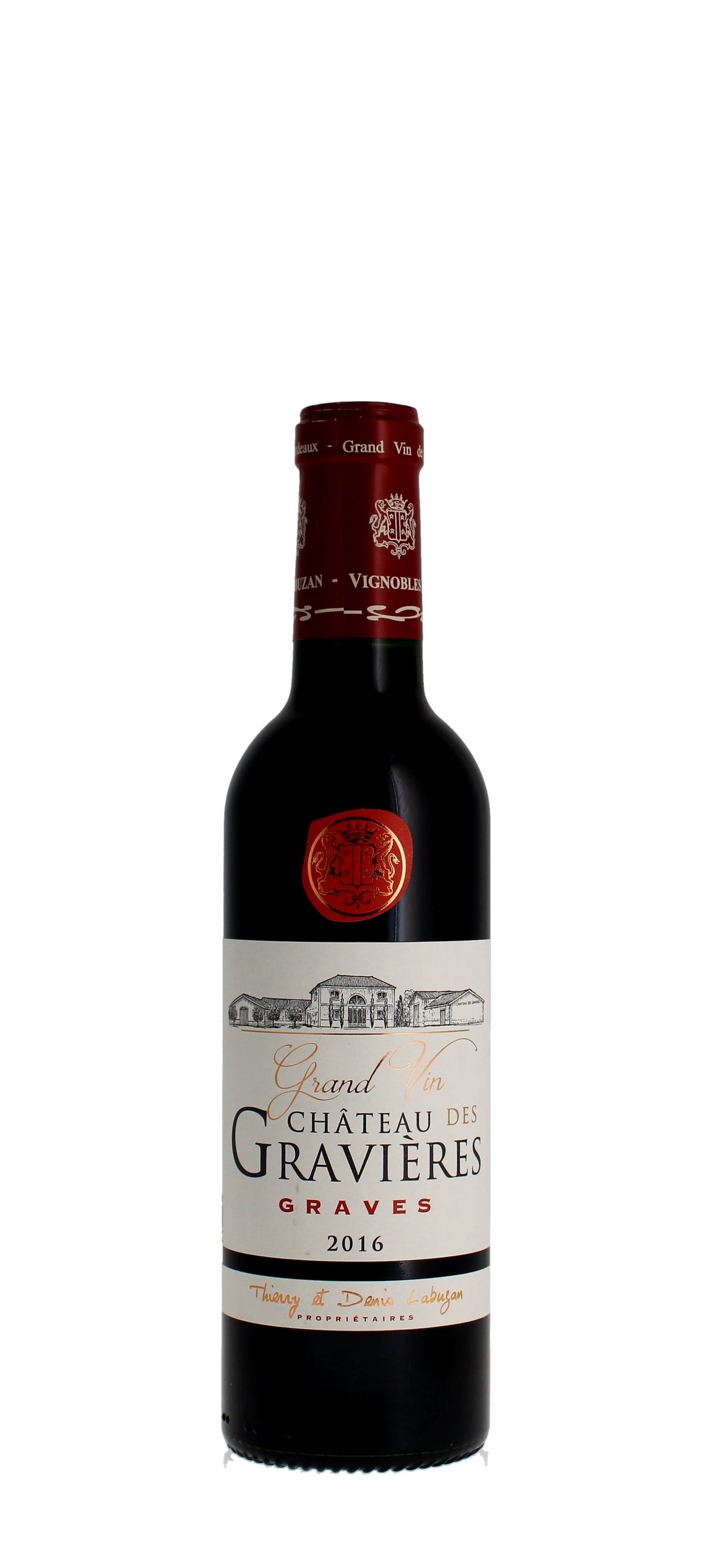 Chateau des Gravieres, Graves 2016  37.5cl Half Bottle