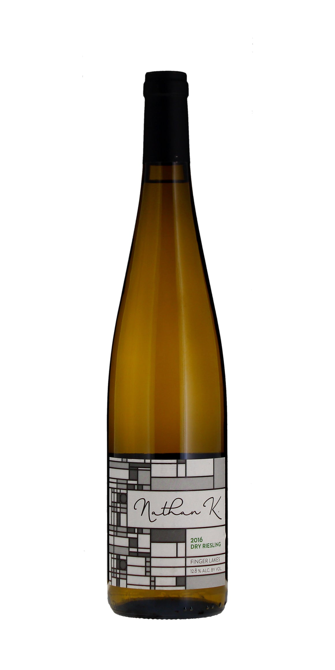 Nathan Kendall Dry Riesling, Finger Lakes 2016