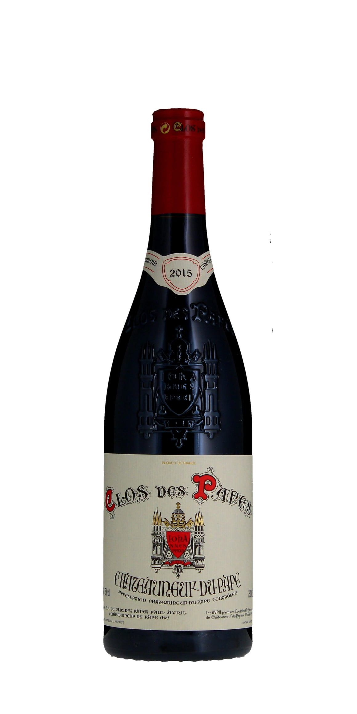 Paul Avril, Chateauneuf du Pape, Clos de Papes, 2015