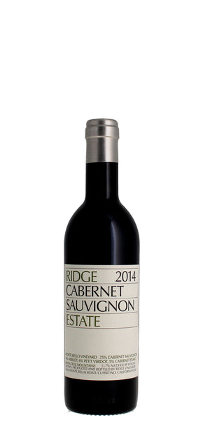 Ridge Vineyards Estate Cabernet Sauvignon, Santa Cruz Mountains 2014 37.5cl