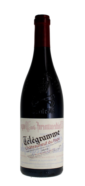 Telegramme Chateauneuf 2010