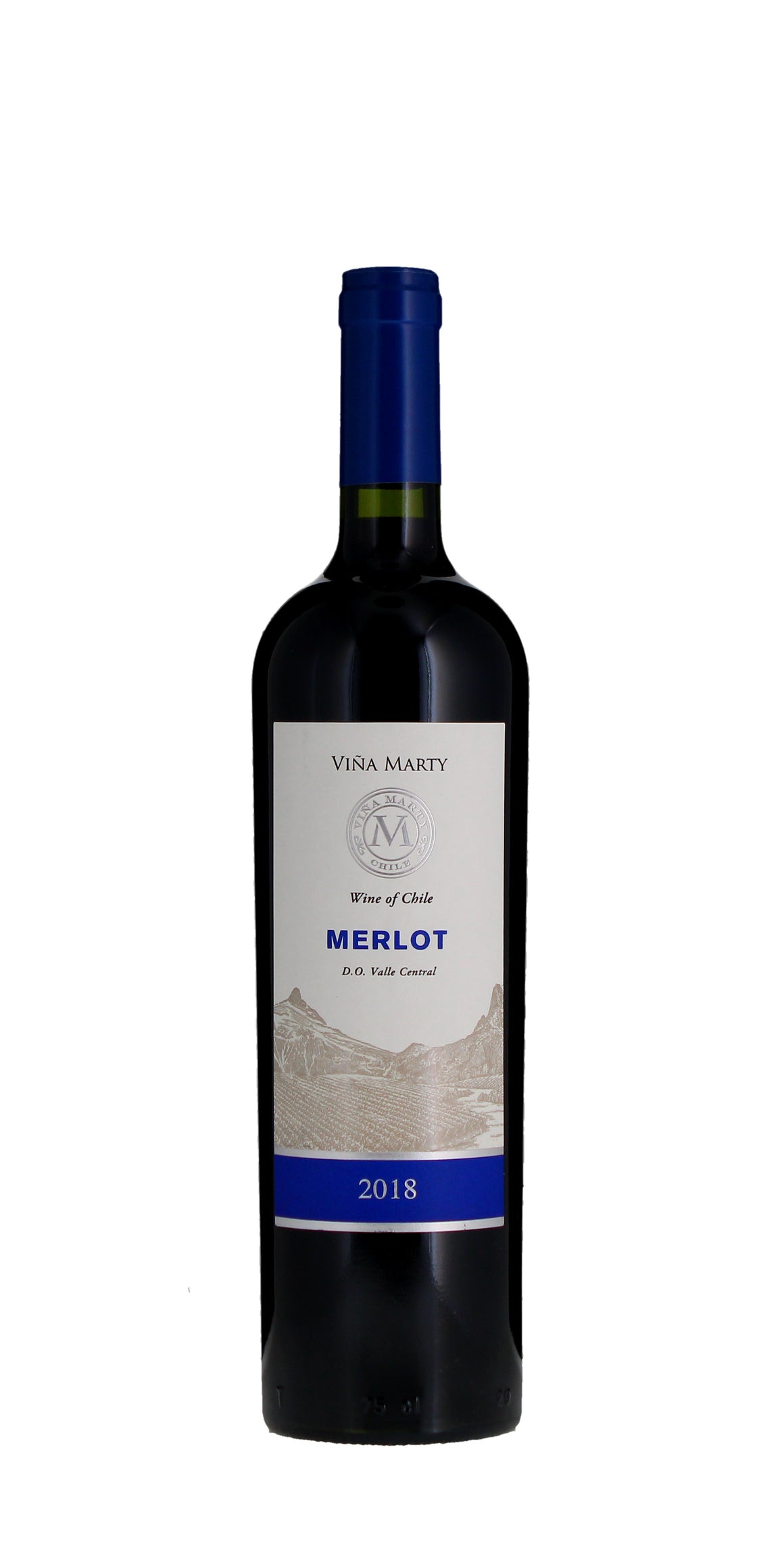 Vina Marty 'Ser' Merlot, Maipo Valley 2018