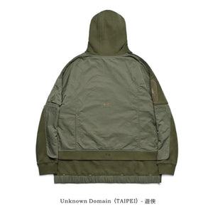 Unknown Domain  遊俠 H052 Hoodie- Green