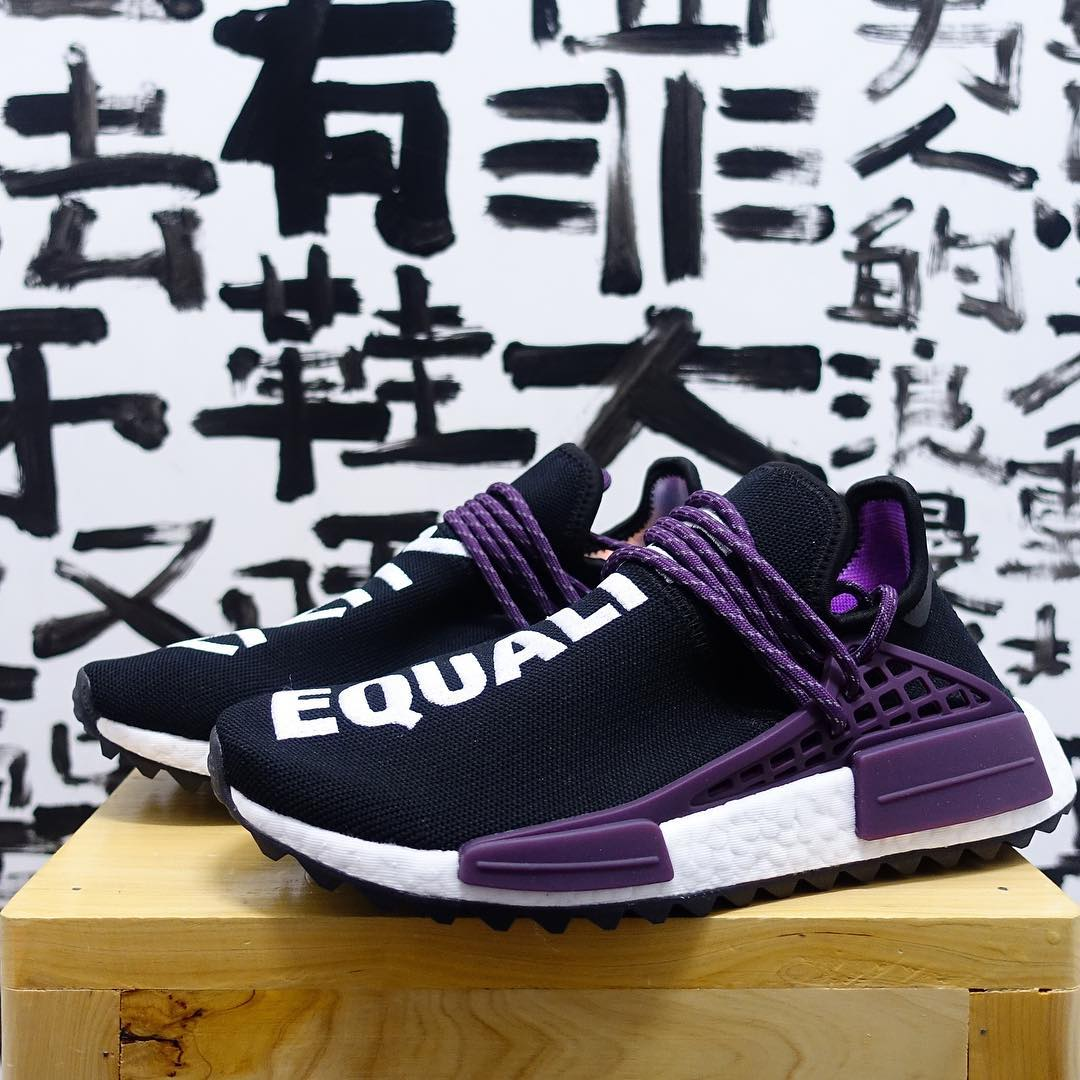 f86003ab8 Adidas Human Race Black Purple