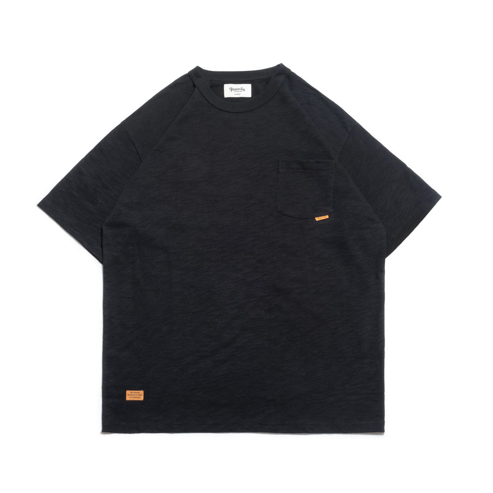 Persevere Classic Pocket Tee- Black