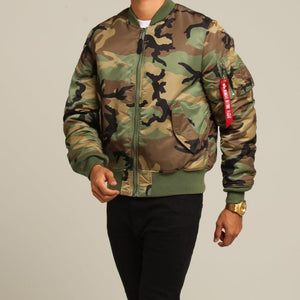 Alpha Industries MA1 Slim - Camo