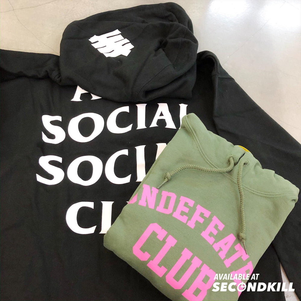 ASSC Undefeated Club Army Hood