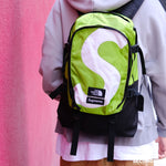 Supreme FW20 TNF S logo Expedition Backpack- Green