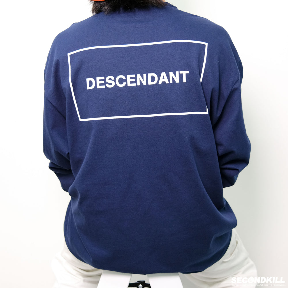 Descendant Box LS Tee- Navy