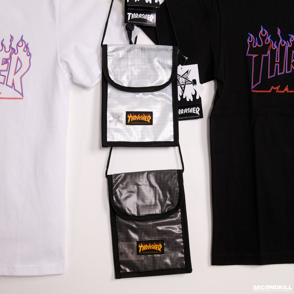 Thrasher Flame Neck Pouch