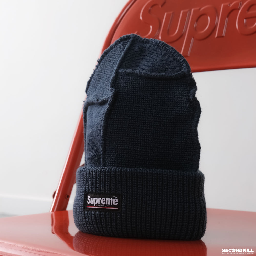 Supreme FW20 Paneled Seam Beanie -Teal