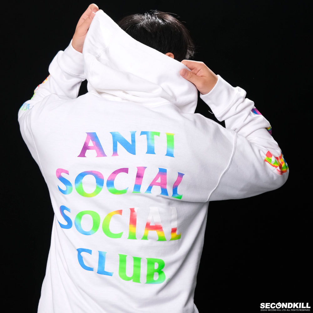 ASSC x Undefeated Hot In Here Hoodie- White