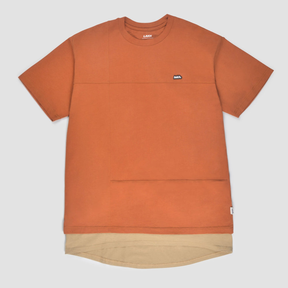 Lakh Supply Layers Patch Tee Orange