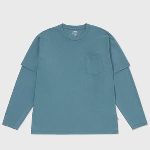 Layered LS Tee - Teal