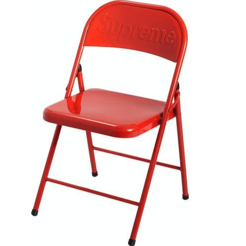 Supreme FW20 Metal Folding Chair- Red