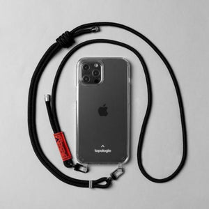 Topologie Phone Cases Verdon Strap - Black Solid